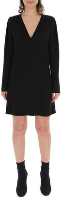 Givenchy Drop V-Neck Dress