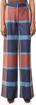 Tanya Taylor Blanket Plaid Ashland Pants