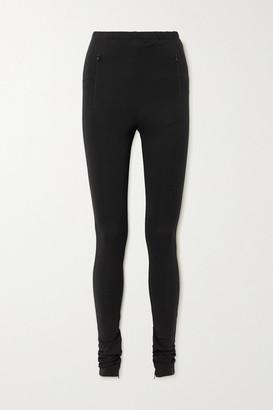 Wardrobe NYC Stretch-jersey Leggings - Black