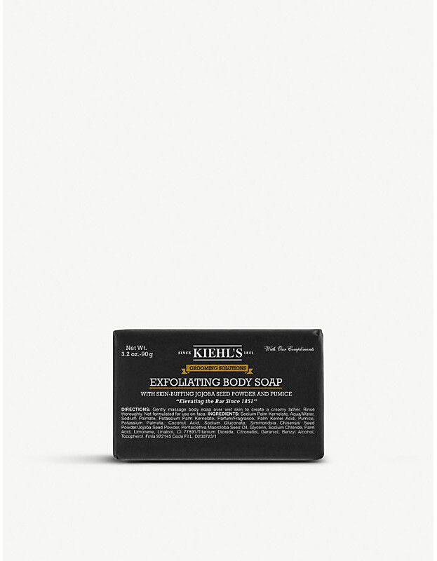 Kiehl's Grooming Solutions Exfoliating Body Soap, Size: 200g
