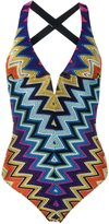 Missoni zig-zag pattern one piece