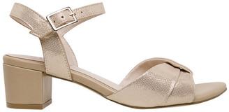 Supersoft By Diana Ferrari Cleantha Blush Metallic Sandal