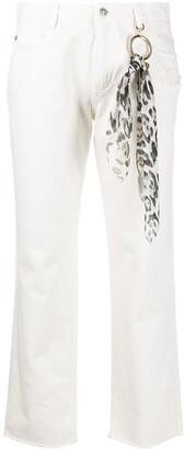 Ermanno Scervino Straight Leg Jeans