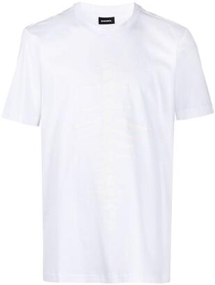 Diesel T-Just-A31 fishbone T-shirt
