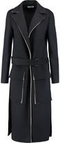 Jil Sander Fleece wool-blend coat