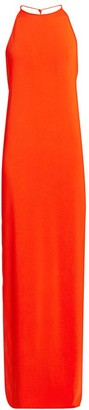 Bottega Veneta Jersey Halter Gown
