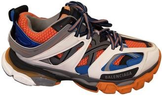 Balenciaga Track Multicolour Leather Trainers