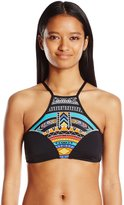 Rip Curl Women's Tribal Myth Printed High Neck Bikini Top