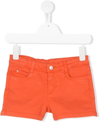 Knot Denim Shorts