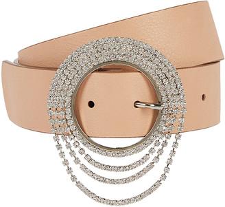 B-Low the Belt Lilia Clara Crystal Buckle Belt