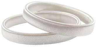 John Lewis & Partners Steel Shirt Armbands, One Size