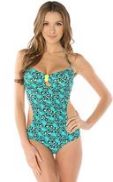 Hello Kitty Swim The Leopard Turquoise Monokini
