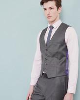 Sharkskin Wool Waistcoat