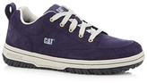 Caterpillar Navy Suede Lace Up Trainers