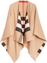 Burberry house Check reversible cape