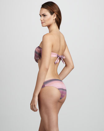 Santorini L Space Swimwear by Monica Wise Sunrise Estella Bikini Bottom