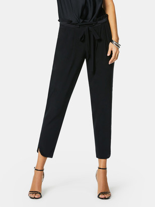 Ramy Brook Allyn Tapered Silk Pant