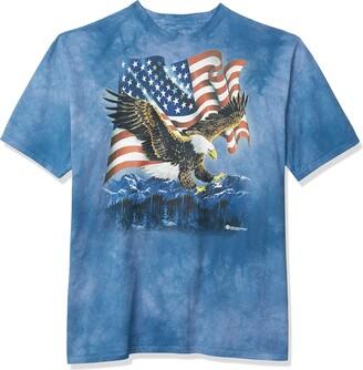 The Mountain Eagle Talon Flag Adult T-Shirt