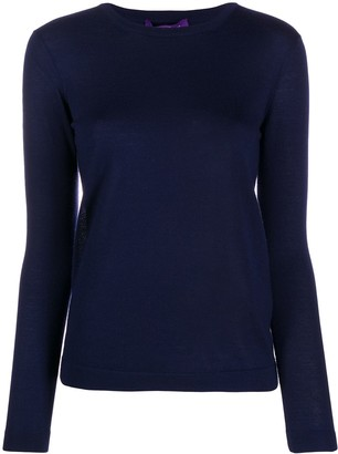 Ralph Lauren Collection Fitted Cashmere Pullover