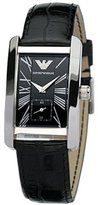 Emporio Armani Women's AR0144 Leather Quartz Watch with Dial