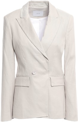 Joie Kierra B Linen-blend Twill Blazer