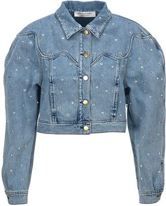 Philosophy di Lorenzo Serafini Philosophy Rhinestone Embellished Denim Jacket