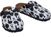 Birkenstock Kids Woodby Birko-Flor Narrow Fit Sandals Mickey Pattern Black