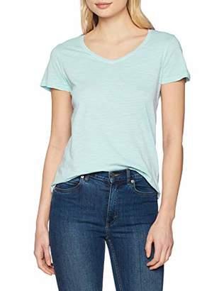 Gant Women's O2. Sunbleached Ss T-Shirt (Bay Green 353), Large