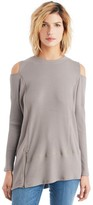 Sole Society Asymmetrical Peek-a-boo Shoulder Top