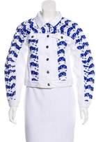 Rebecca Minkoff Embroidered Denim Jacket