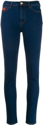 GCDS High Waisted Skinny Jeans