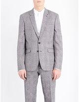 Sandro Slim-fit Wool-blend Jacket