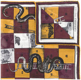 Alexander McQueen snakes and ladders scarf