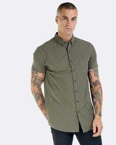 Olive Dress Shirt