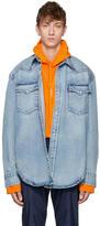 Vetements Blue Levis Edition Heavy Denim Shirt