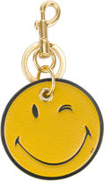 Anya Hindmarch Smiley keyring - women - Calf Leather/Goat Skin/metal - One Size