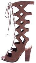 Roberto Cavalli Lace-Up Gladiator Sandals