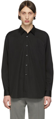 Comme des Garcons Black Poplin Shirt