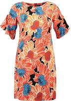 Dorothy Perkins FLORAL SHIFT Summer dress orange