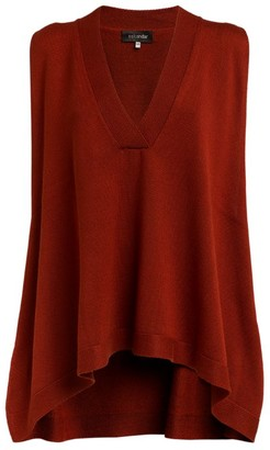 eskandar Silk Sleeveless Sweater