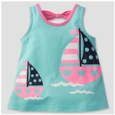Gerber Graduates® Toddler Girls' Sailboat Tunic - Light Blue