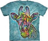 The Mountain Green Russo Giraffe Sublimation Tee - Toddler & Kids