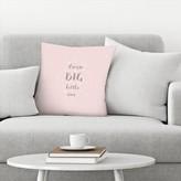 "Dream Big Little One Throw Pillow East Urban Home Size: 14"" x 14"""