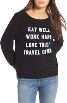 Wildfox Couture Women's 'Mantra' Sweatshirt