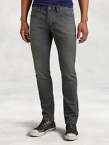 John Varvatos Wight Hand Distressed Jean