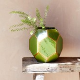 Graham and Green Green Geometric Vase