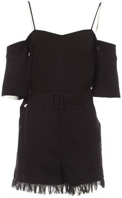 Nanushka Black Synthetic Jumpsuits