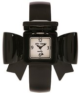 Betsey Johnson Bow Bangle Watch