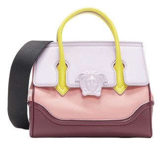 Versace Palazzo Empire Pink Leather Handbags