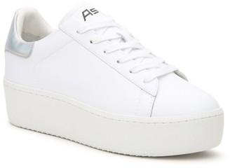 ash cult platform sneakers white